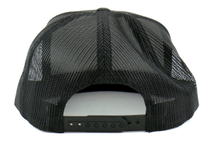 RallySport Direct Stripes Trucker Snap Back Hat (Part Number: 20031)