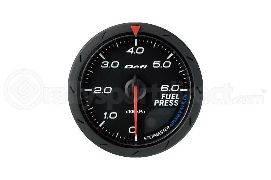 Defi Advance CR Fuel Pressure Gauge 60mm (Part Number:DF09002)
