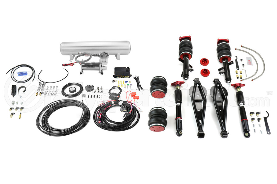 Air Lift Performance Front and Rear Air Suspension Kit w/Tank - Ford Focus ST 2013+