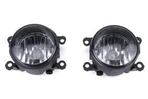 Winjet Glass Fog Light Housing Clear Lense - Subaru WRX / STI 2015-2021