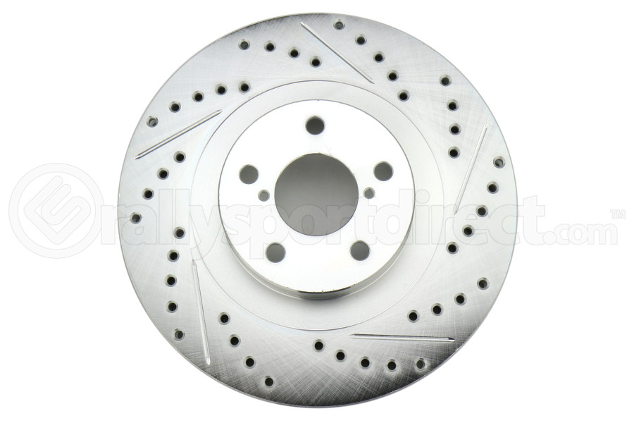 Stoptech C-Tek Sport Drilled and Slotted Rotor Single Front Left (Part Number:227.47018L)