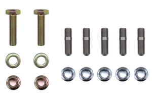 GrimmSpeed Up Pipe Hardware Kit Replacement for GrimmSpeed 2 Bolt Up Pipe - Universal