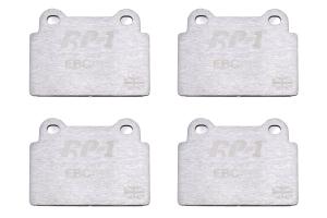 EBC Brakes RP1 Racing Brake Pads - Mitsubishi Evo X 2008-2015