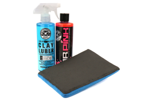 Chemical Guys Surface Cleansing Mitt Fine Grade Clay System Kit - Universal