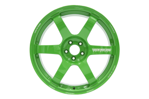 Volk TE37 SAGA 18x9.5 +38 5x114.3 Takata Green - Universal