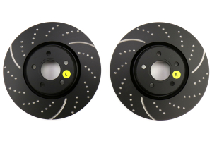 EBC Brakes 3GD Sport Dimpled/Slotted Front Brake Rotors - Ford Focus ST 2013+