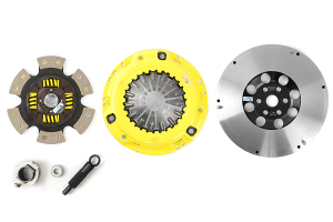 ACT Heavy Duty 6-Puck Disc Clutch Kit Flywheel Included (Part Number: )