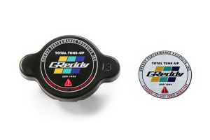 GReddy Type-S Black Radiator Cap  - Universal