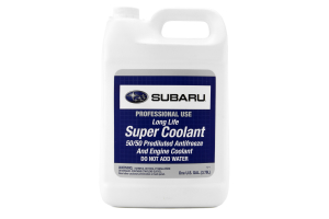 Subaru OEM Super Coolant 1 Gallon (Part Number: SOA868V9270)