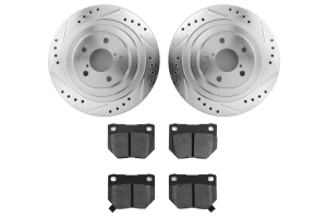 Hawk Performance Rotors w/ HPS 5.0 Pads Kit Rear ( Part Number:HAW4 HK4953.179B)
