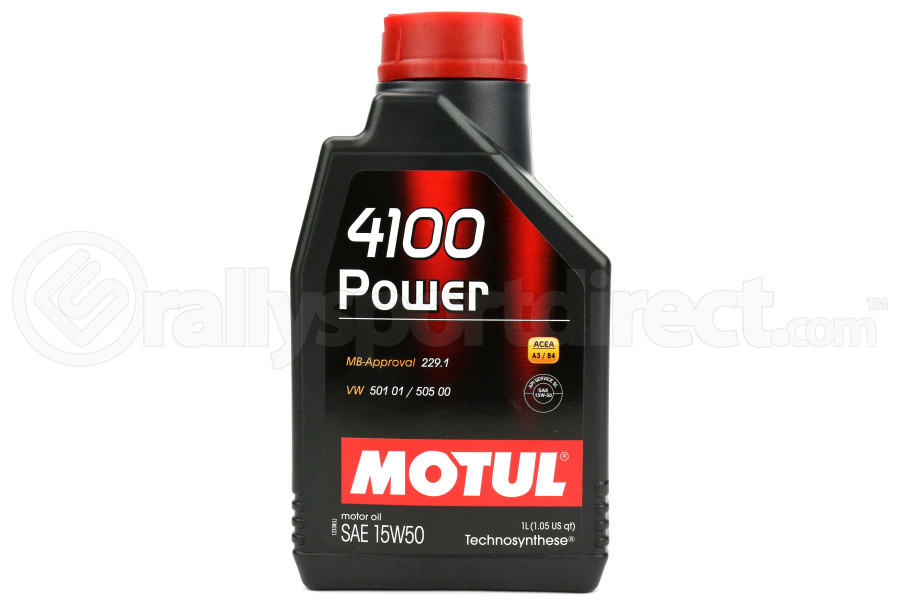 Motul 4100 POWER 15W50 Engine Oil 1L ( Part Number:MOU 102773)