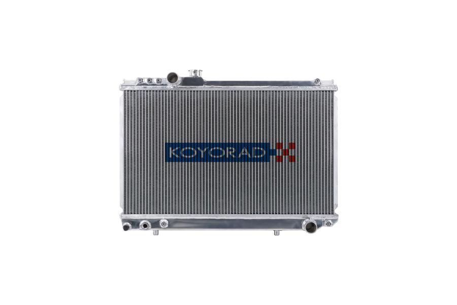 Koyo Aluminum Racing Radiator Manual Transmission - Toyota Supra 1986-1992