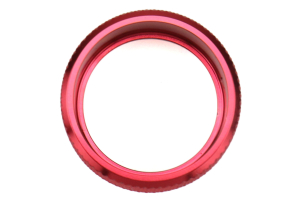 GCS Anodized Aluminum Dual Climate Control Knob Trim Red (Part Number: )