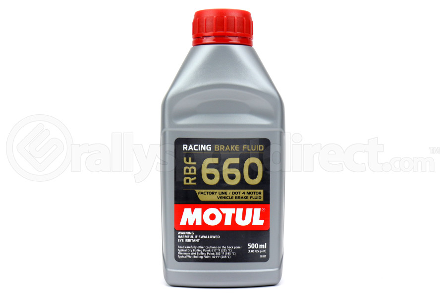 Motul RBF660 Racing DOT 4 Synthetic Brake Fluid 500ml (Part Number:101667)