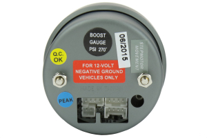 ProSport Premium Electrical Boost Gauge ( Part Number:PRS 216SMBOSWL270-PK.PSI)