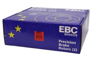 EBC Brakes BSD Series Sport V-Slotted Front Brake Rotors - Mitsubishi Evo 8/9 2003-2006
