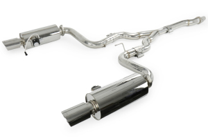 X-Force Twin 3in Stainless Steel Turbo Back System ( Part Number: ES-FM16-VMK-TBS)