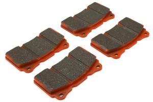 EBC Brakes Orangestuff Race Front Brake Pads - Subaru STI 2004-2017 / Mitsubishi Evo / OEM Brembo Applications
