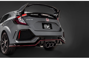 Magnaflow Competition Series Cat Back Exhaust w/ Carbon Fiber Tips - Honda Civic Type R 2017+