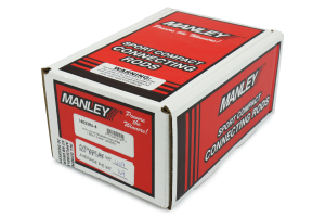 Manley Economical H-Plus Beam Steel Connecting Rods ( Part Number:MAN 14022R6-4)