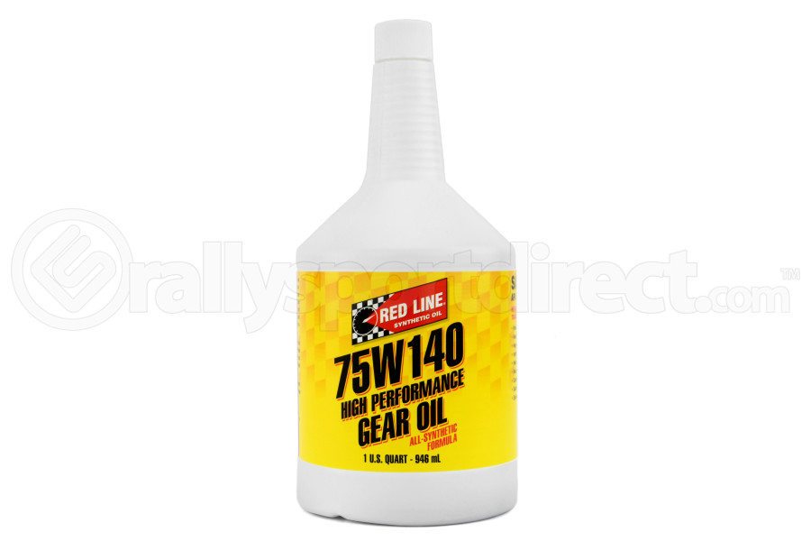 Red Line 75W140 GL-5 Gear Oil 1 Quart (Part Number:57914)