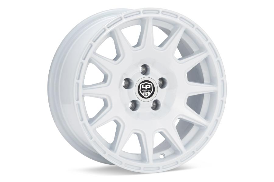 LP Aventure LP1 Wheel 15x7 +15 5x100 White - Universal