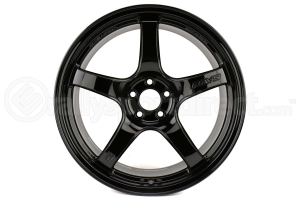 Gram Lights 57CR 17x9 +38 5x100 Gloss Black - Universal