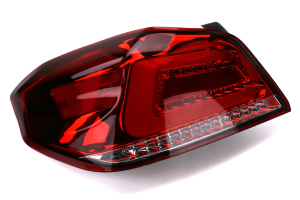 SubiSpeed USDM TR Style Sequential Tail Lights Red Lens Chrome Reflector - Subaru WRX / STI 2015+