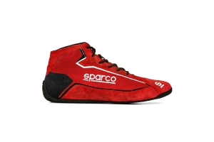 Sparco Slalom+ Suede Shoes Red - Universal