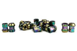 KICS Racing Lug Nuts R26 Composite 12x1.25 Neo Chrome (Part Number: )