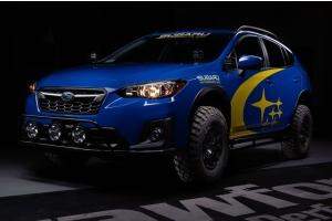 Crawford 2in Lift Kit Anodized Black - Subaru Models (inc. 2018-2021 Crosstrek / 2019-2021 Forester)