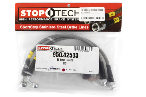 Stoptech Stainless Steel Brake Lines Rear ( Part Number:STP 950.42503)