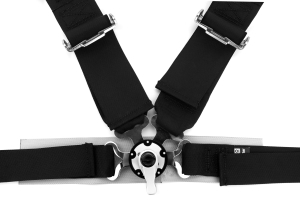 Sparco Harness Belt 4-Point Competition Black (Part Number: )