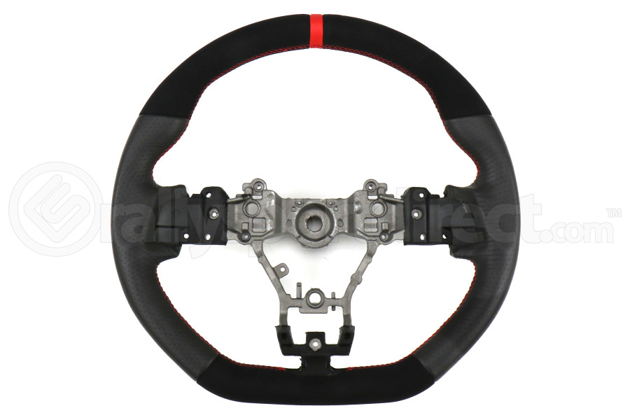 FactionFab Steering Wheel Leather and Suede - Subaru WRX / STI 2015 - 2020