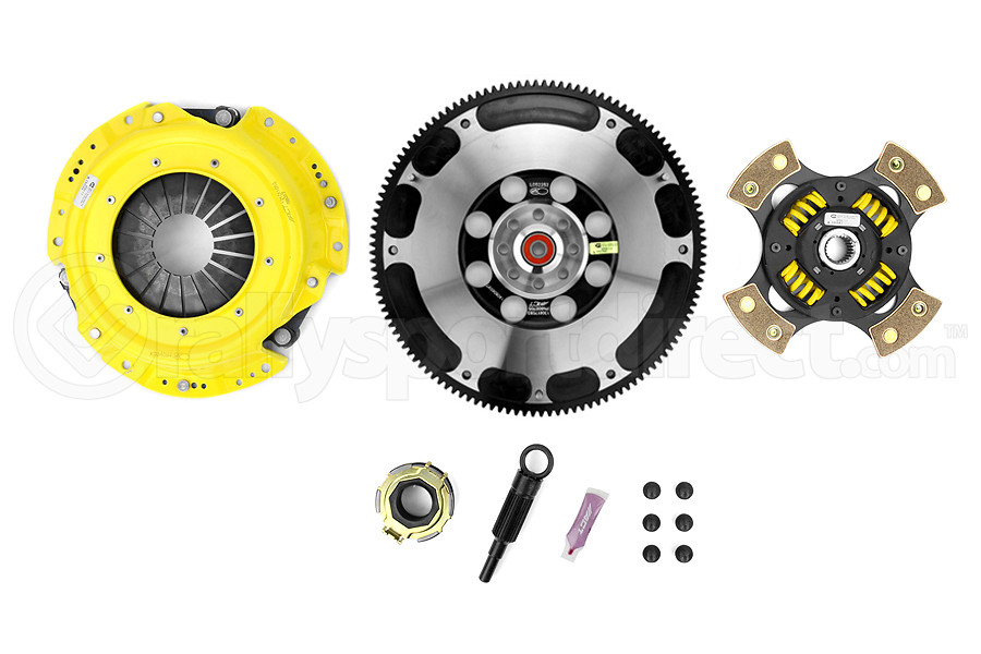 ACT Heavy Duty Sprung 4-Puck Disc Clutch Kit Prolite Flywheel Included (Part Number:SB8-HDG4)