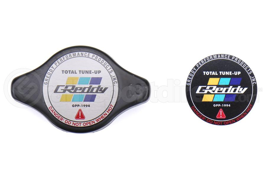 GReddy Type-N Black Radiator Cap - Universal