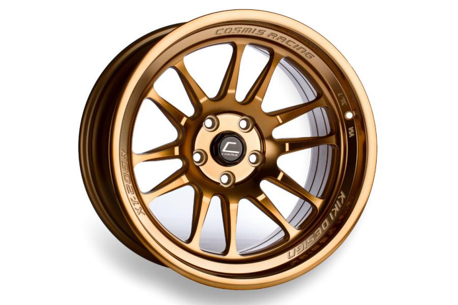 Cosmis Racing Wheels XT-206R 17x8 +30 5x114.3 Hyper Bronze - Universal