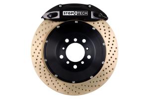 Stoptech ST-40 Big Brake Kit Front 328mm Black Zinc Drilled Rotors ( Part Number:STP 83.836.4300.54)
