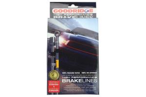 GoodRidge G-Stop Stainless Steel Brake Line Set Black (Part Number: )