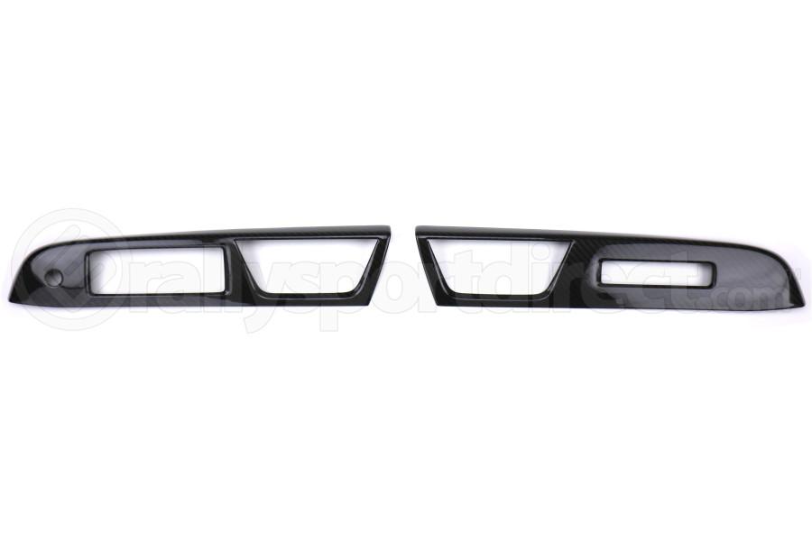 OLM S-line Carbon Fiber Switch Panel Covers - Subaru WRX / STI 2018 - 2020