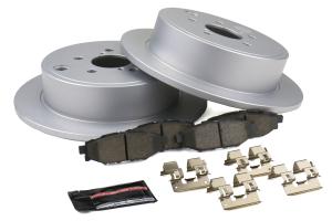 Power Stop Z17 Coated Brake Kit Rear - Subaru Models (Inc. 2008-2014 WRX)