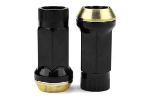 Muteki SR45R Black Open Ended Lug Nuts 12X1.25 - Universal