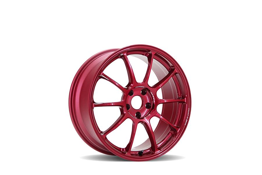 Volk ZE40 Face 2 18x9.5 +38 5x114.3 Hyper Red - Universal