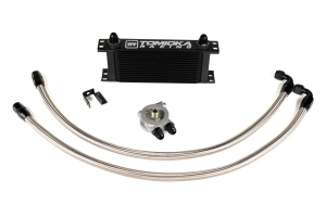 Tomioka Racing Oil Cooler Kit w/ Thermostat - Subaru STI 2008+