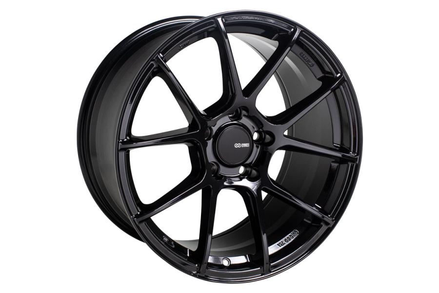 Enkei TS-V 18x8 +45 5x112 Gloss Black - Universal