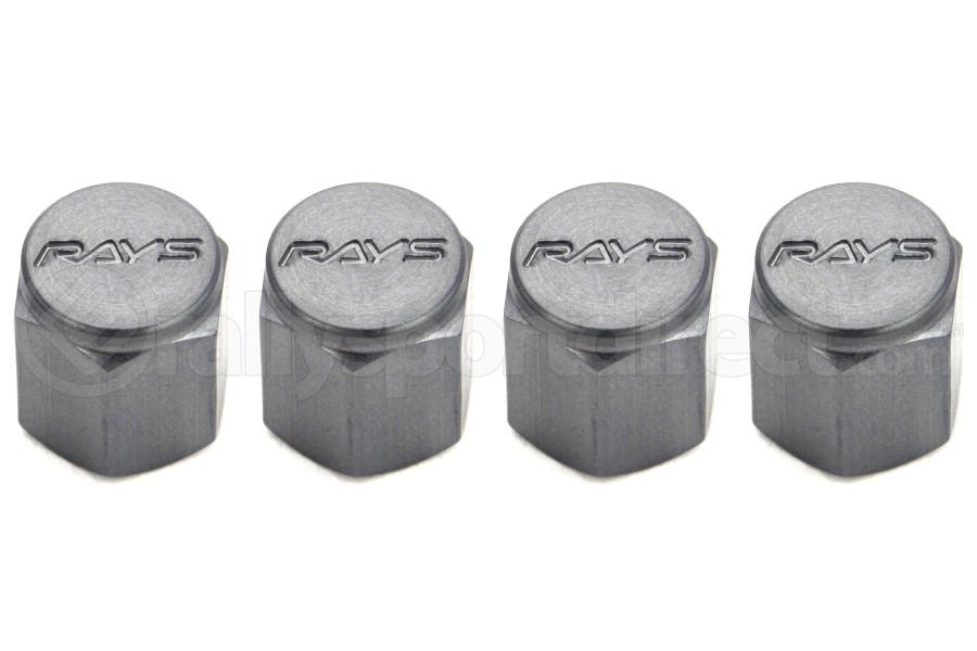 Volk Racing Rays Valve Stem Caps Gunmetal (Part Number:WVALGM2)