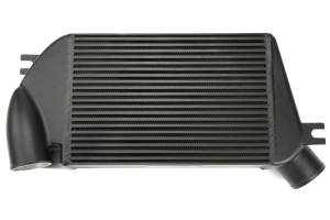 Mishimoto Race Top Mount Intercooler Black - Subaru WRX 2015+