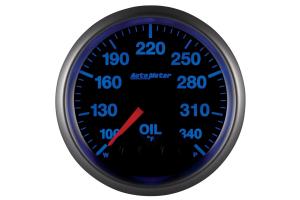 Autometer Elite Oil Temperature Gauge 7 Color 52mm - Universal