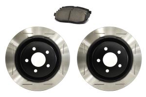 Sparta Evolution Brakes Stage 1 Rear Brake Kit Wing Slot - Subaru Models (inc. 2013+ BRZ / 2010-2012 Legacy GT)