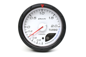 Defi Advance CR Boost Metric White 60mm Gauge ( Part Number:DEF2 DF08601)